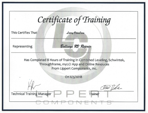 LippertTrainingCert-larry-van-liew-1024x784